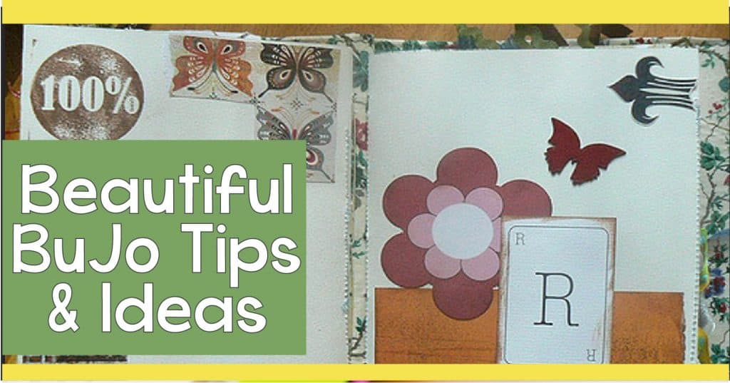 Learn how to create beautiful spread and get bullet journal ideas for your own journals.
