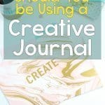 Why should you be using a creative journal? It can help with writers block, developing design ideas, finding your creativity and so much more. Read more here!