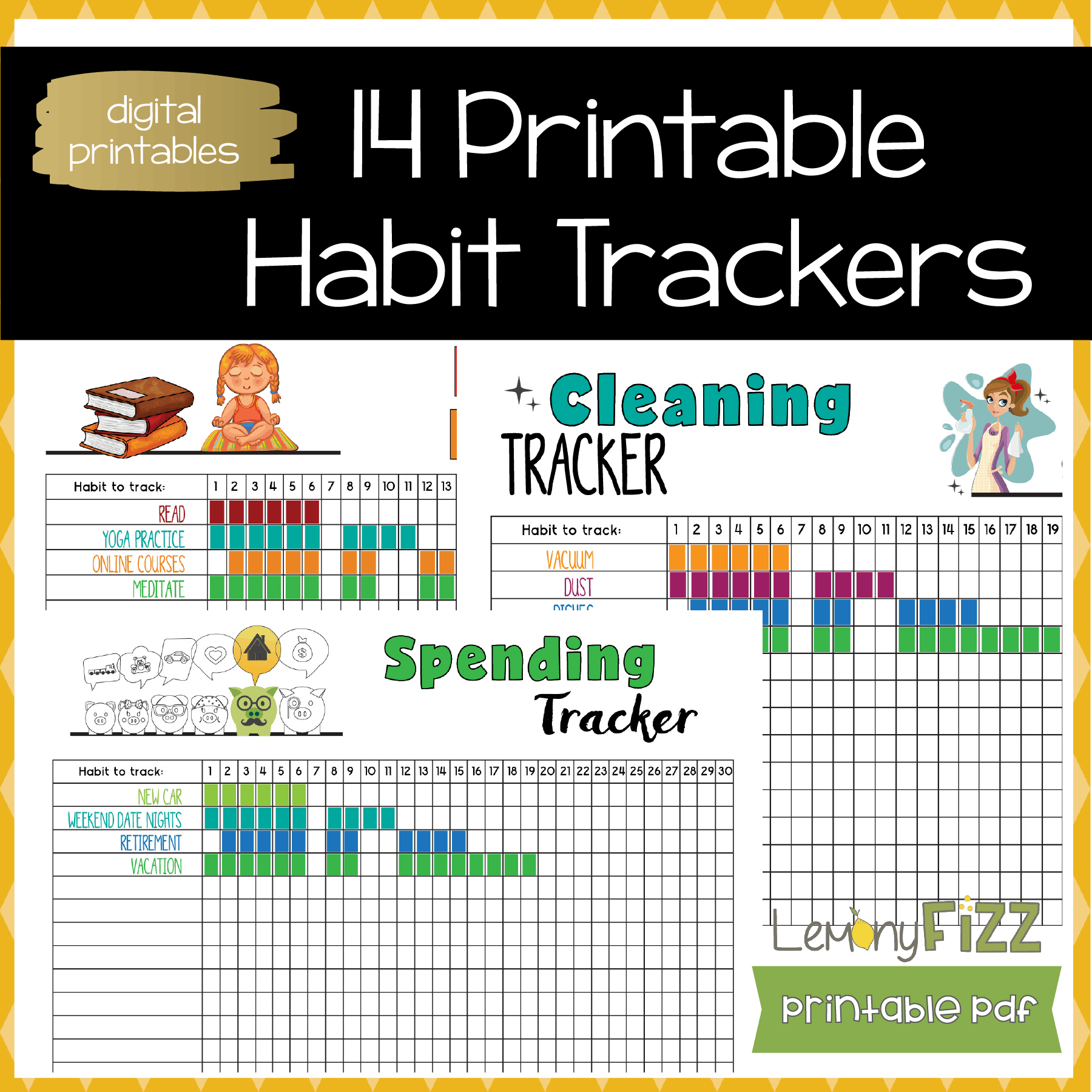 Habit trackers