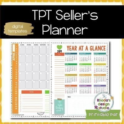 Planner for Teachers Pay Teachers Sellers