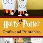 Harry Potter crafts and printables for kids and adults. Use for parties, home decor, or just for fun.