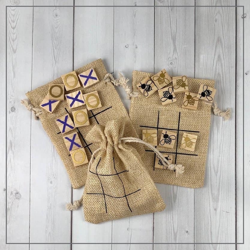 Fast and Fun Tic Tac Toe Board Party Favors