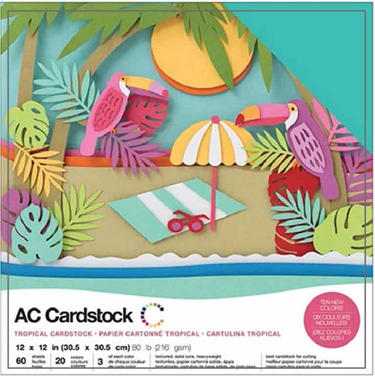 cardstock for cricut