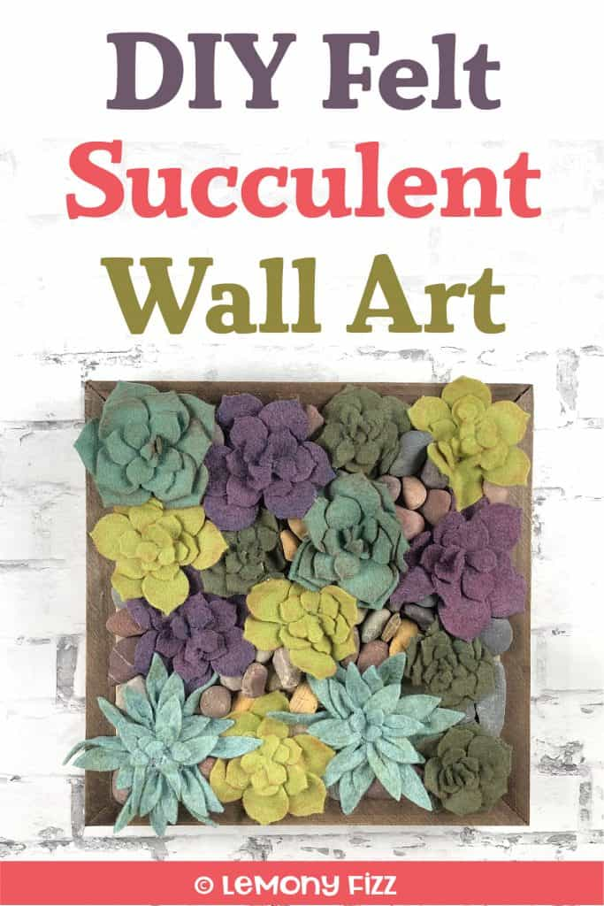 Super Easy DIY Succulent Wall Art That Won't Die