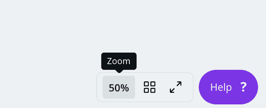 If your screen is too small you can use the Zoom tool in the lower right to make it larger.