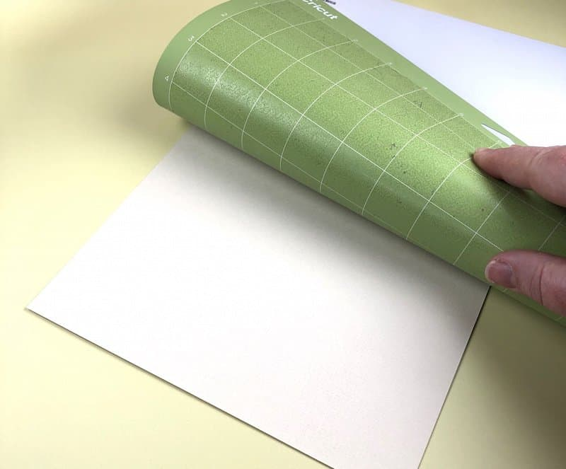 Roll your mat off the paper instead of the paper off the mat. Great Cricut hacks.