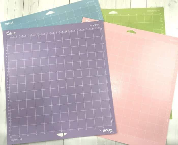 Cricut cutting mats to use for your DIY craft projects.