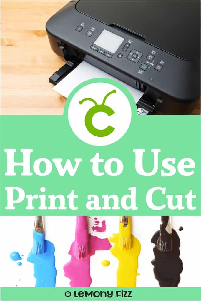 Simple Print and Cut Cricut Design Space Tutorial