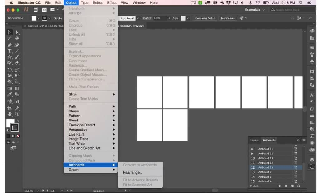 Learn How Illustrator Artboards and Layers Work with a
