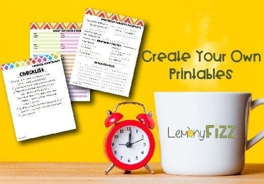 printables course