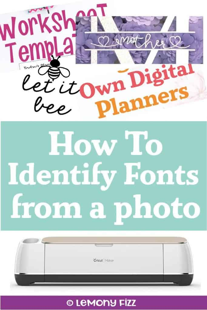 How to Identify Fonts to Use on Your Cricut Craft Projects