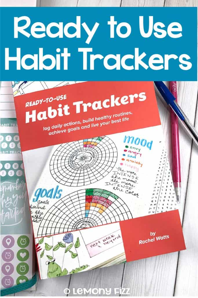 Ready to Use Habit Trackers Bullet Journal Book Review