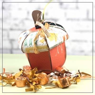 Fall Acorn Treat Box for Home Decor or Gifts