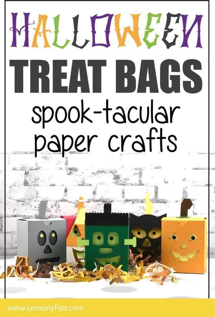 DIY Halloween Treat Bag: a Fun Paper Craft for Kids