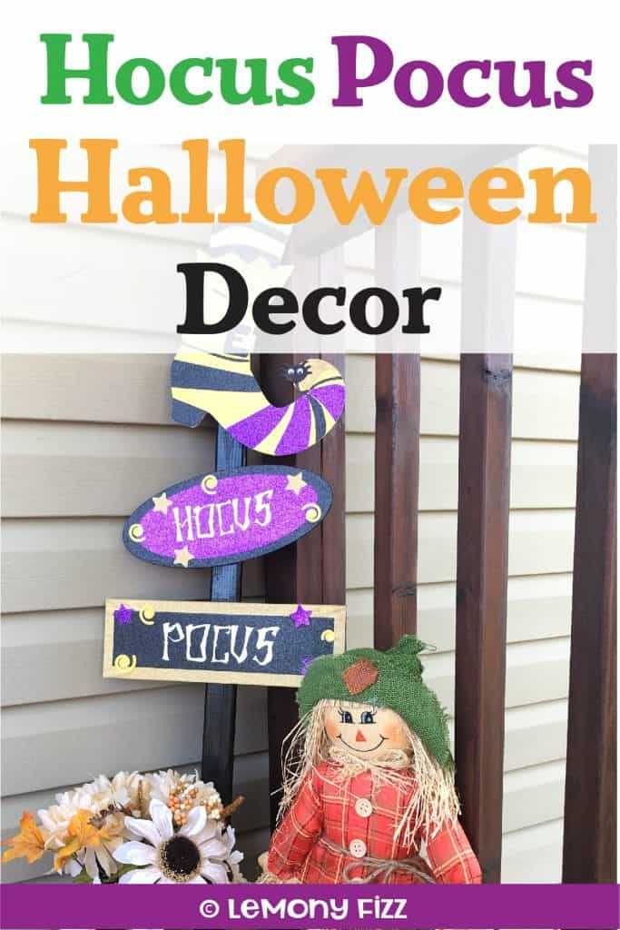Make Your Own Hocus Pocus Halloween Sign