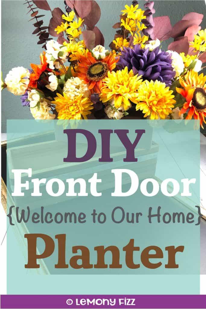 Create a DIY Front Door Welcome Sign