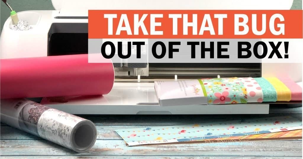 Take your Cricut out of the box image