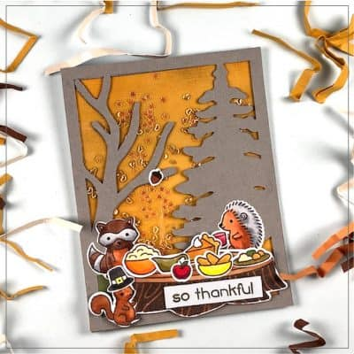 Thanksgiving Card: Make This Simple Card