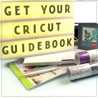 Learn to Use Your Cricut with this Cricut Guidebook