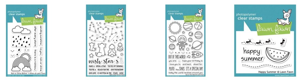 lawn fawn acrylic stamps