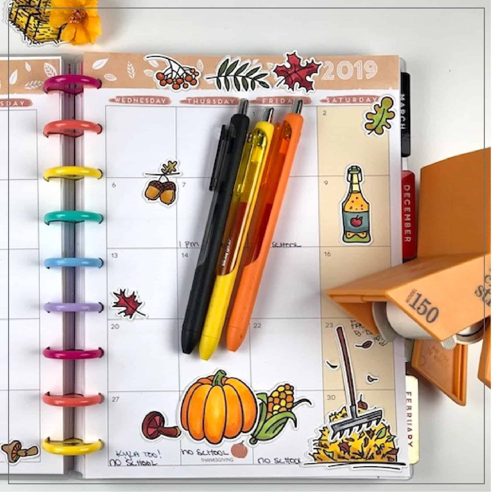 Make Your Own Planner Stickers with Digital Stamps