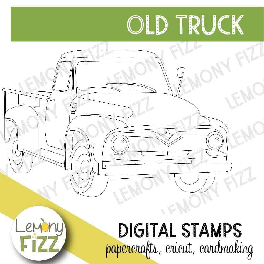 Digital stamps are great coloring images for card making.