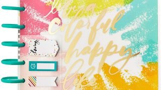 The Happy Planner 12 Month Box Kit - Live A Happy Colorful Life Planner Kit
