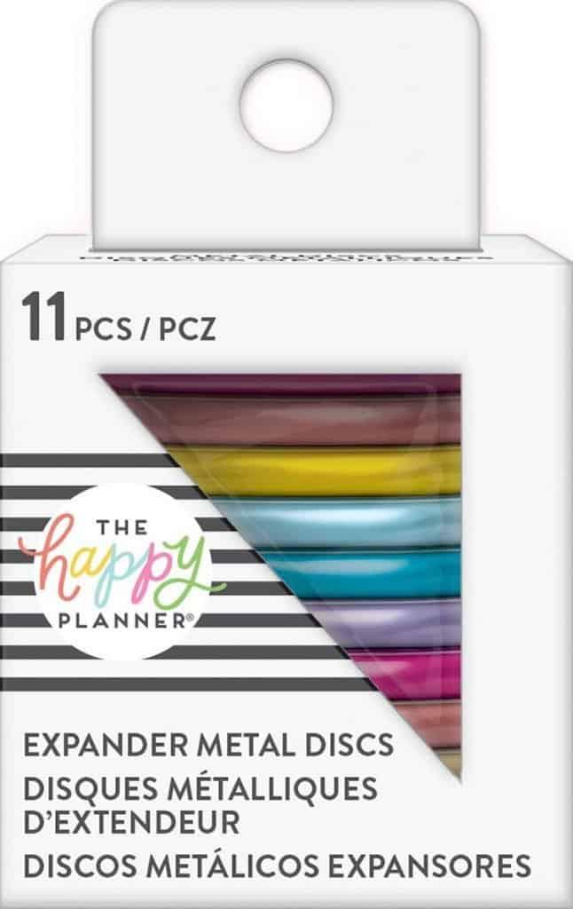 planner rainbow discs