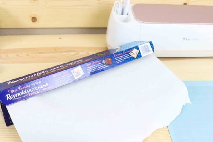 Freezer Paper Stencils with your Cricut or Precision Knife | T-Shirts, Socks, Wood, etc.