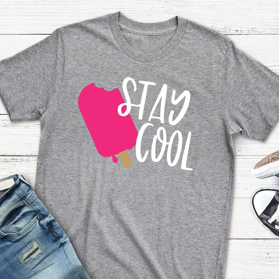 popsicle stay cool summer svg for Cricut crafters