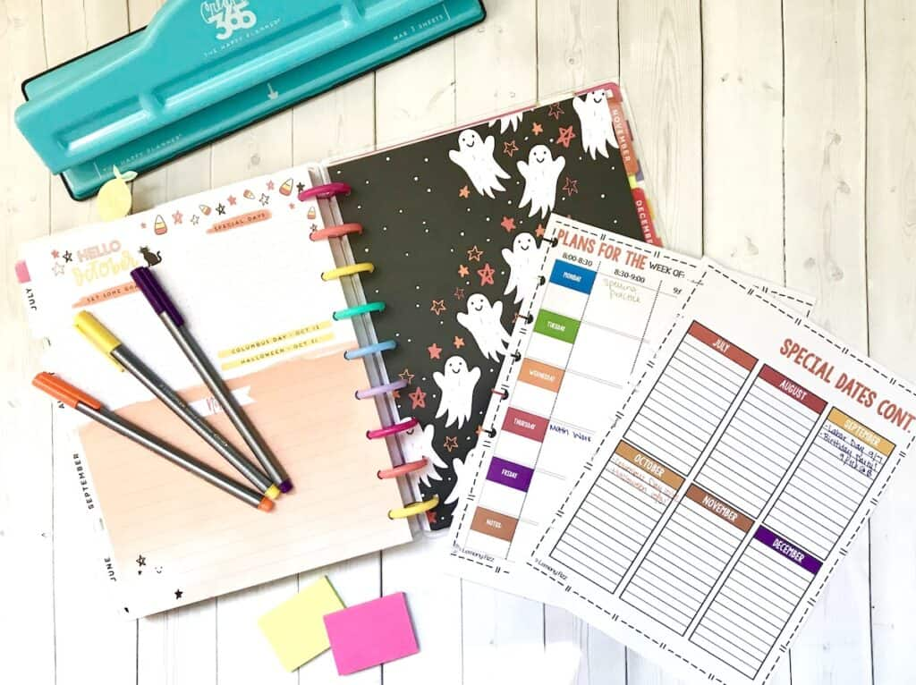 homeschool planner printables