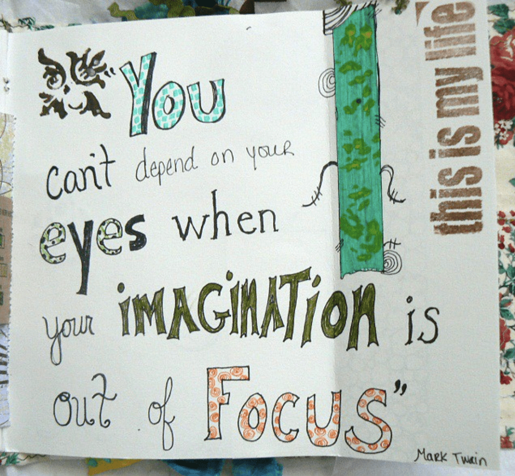 You can't depend on your eyes when your imagination is out of focus - Mark Twain
