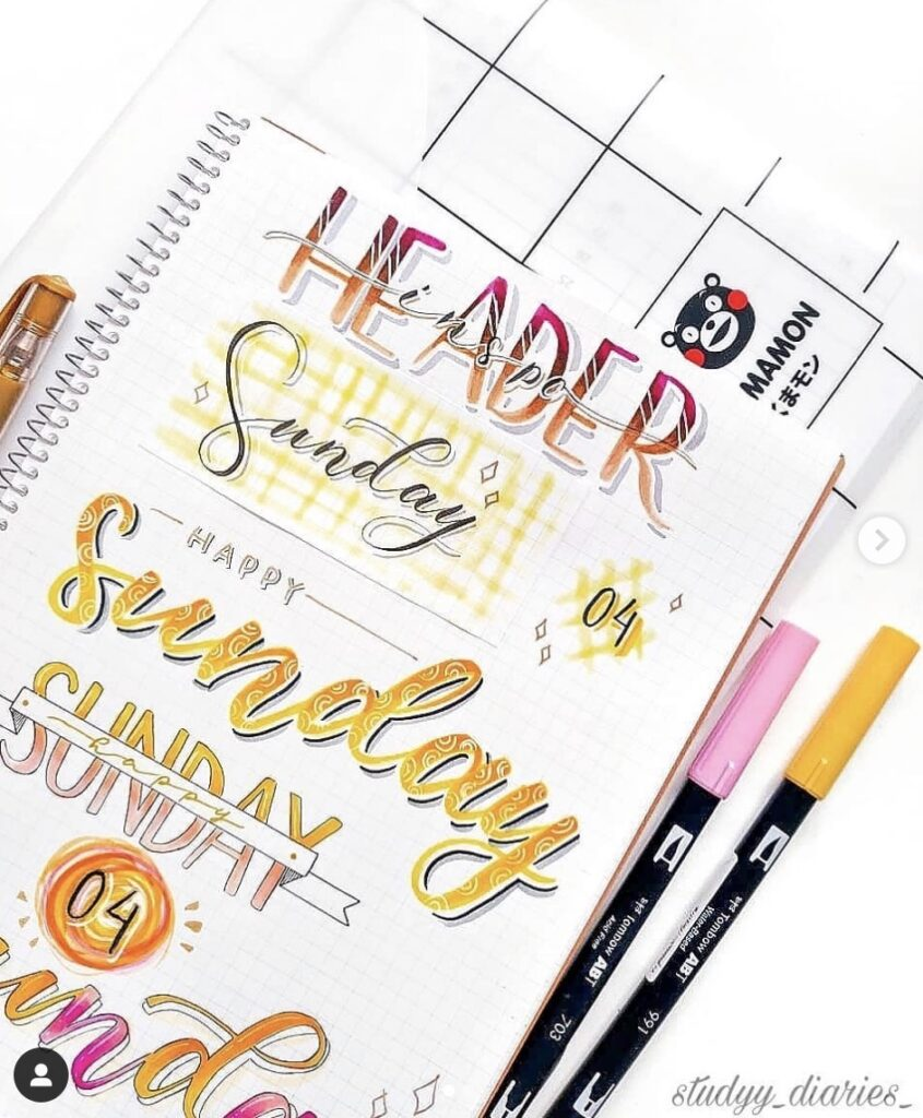 a7-sunday-studyy-diaries