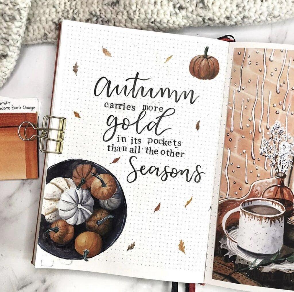 autumn-gold-stationerypal-inspo