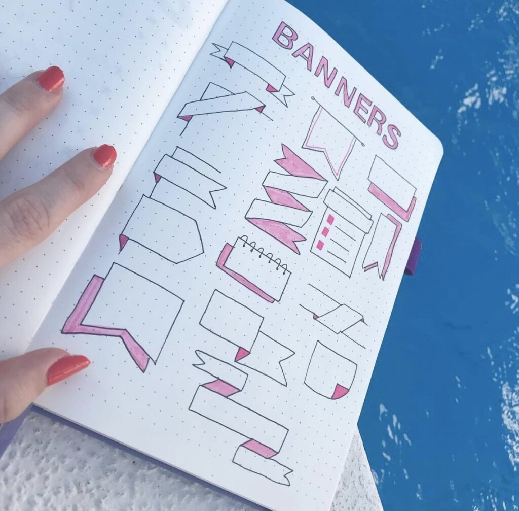 banner-pink-outline-bujo-abby
