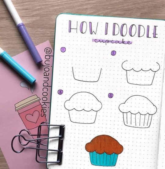 cupcakes-bujo-and-cookies