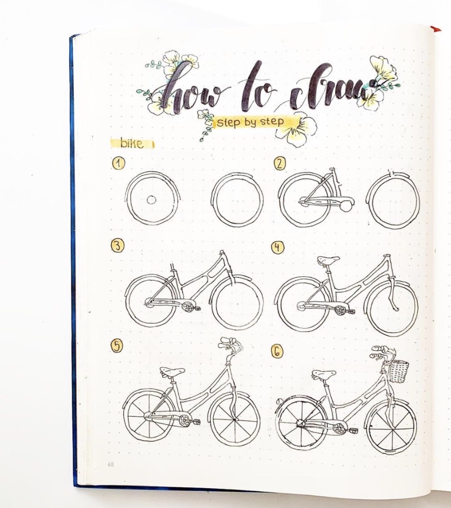 draw-a-bike-charliesbulletjournal
