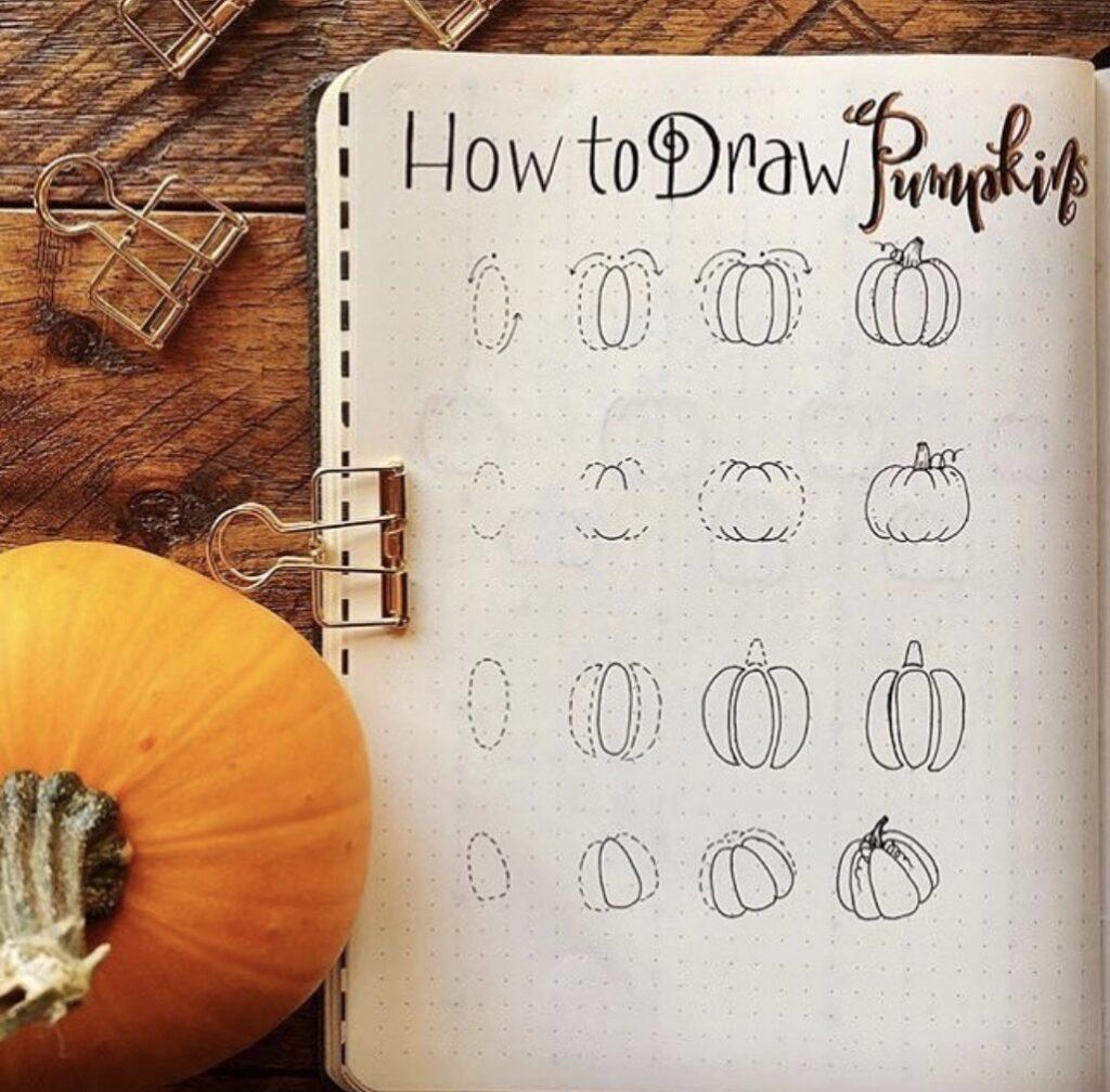 draw-a-pumpkin-joyfuljournaler