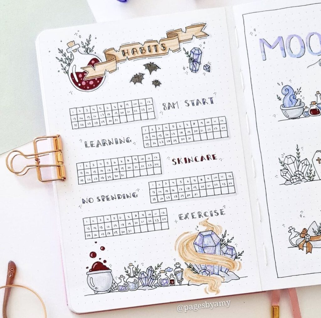 fall-habit-tracker-pages-by-amy