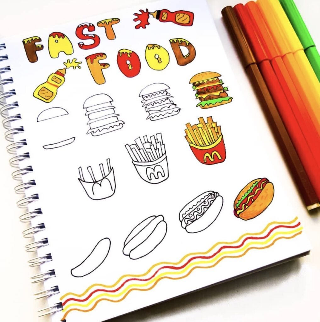fast-food-doodlesbynastia