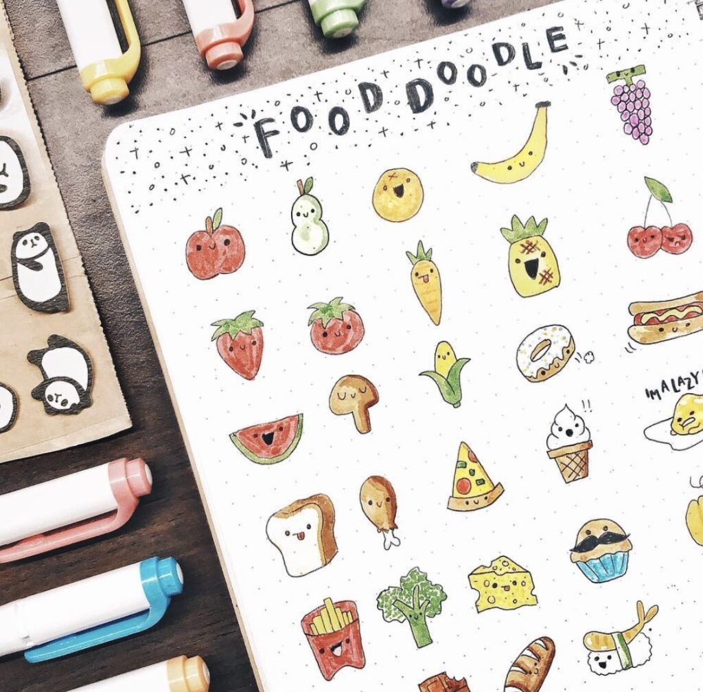 food-doodles-elisestudies