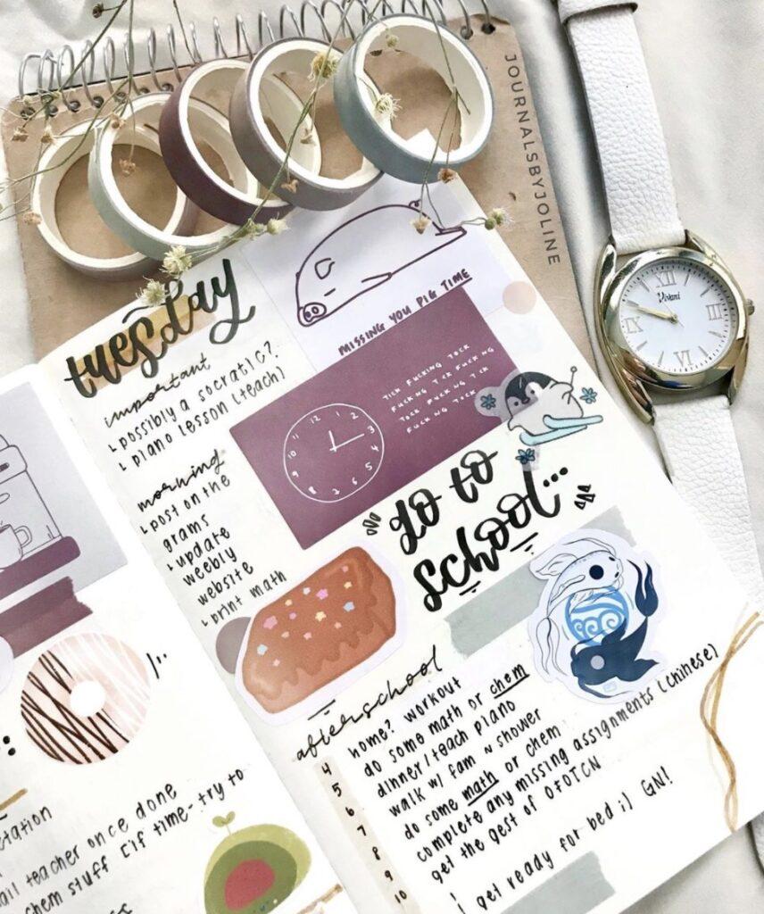 go-to-school-journalsbyjoline