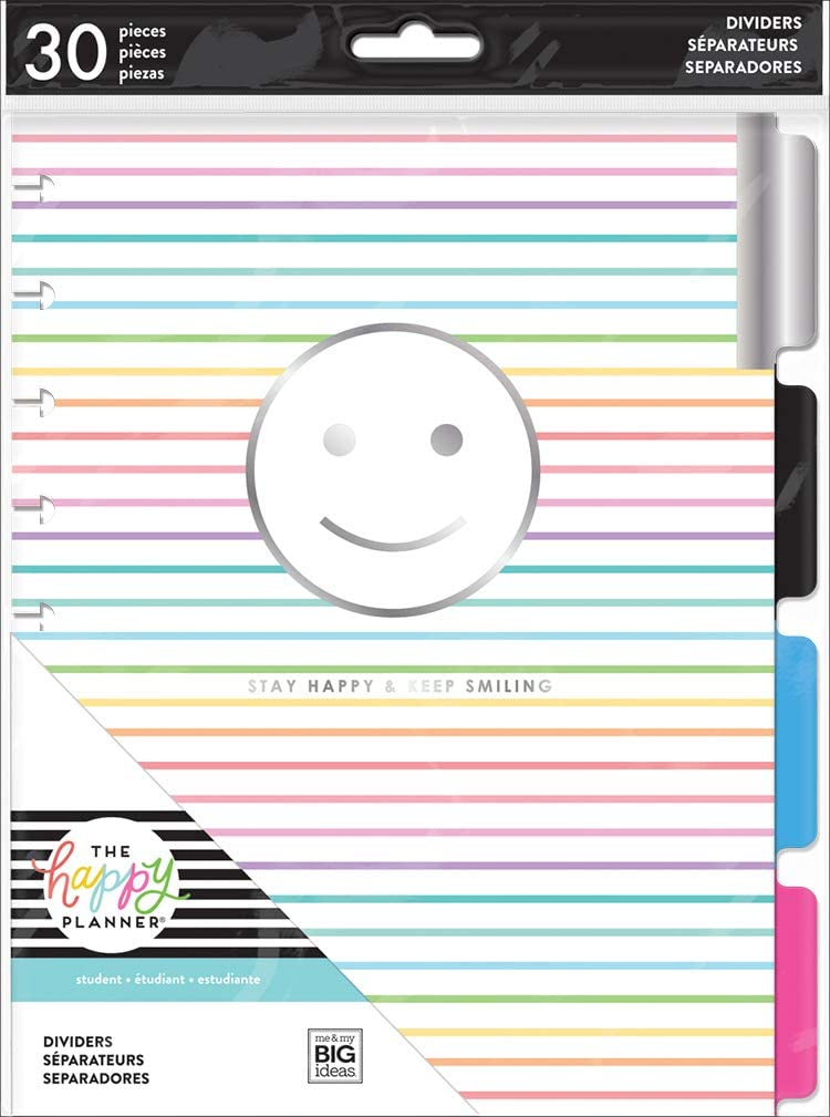 happy planner good vibes insert dividers