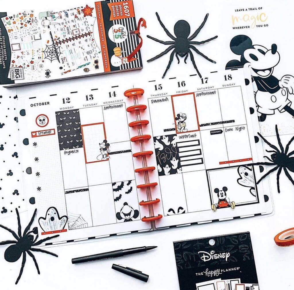 halloween-disney-happy-planner-sticker-layout-frecklyfaced