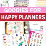happy planner accessories and goodies to use in your daily planner