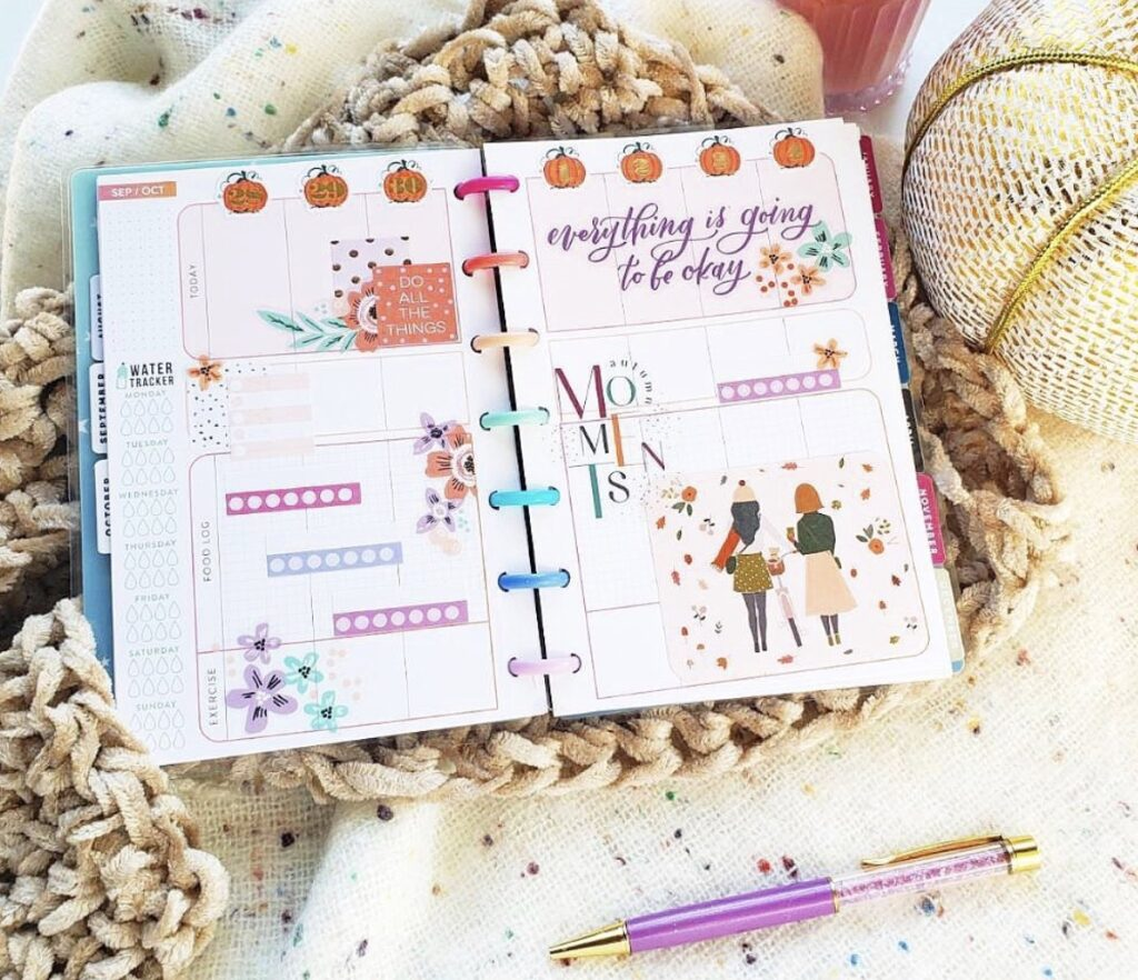 Happy Planner by me layout ideas
