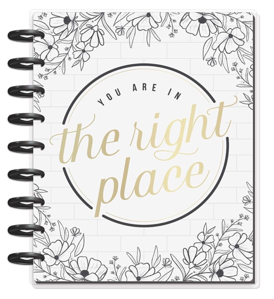 happy planner dashboard the right place