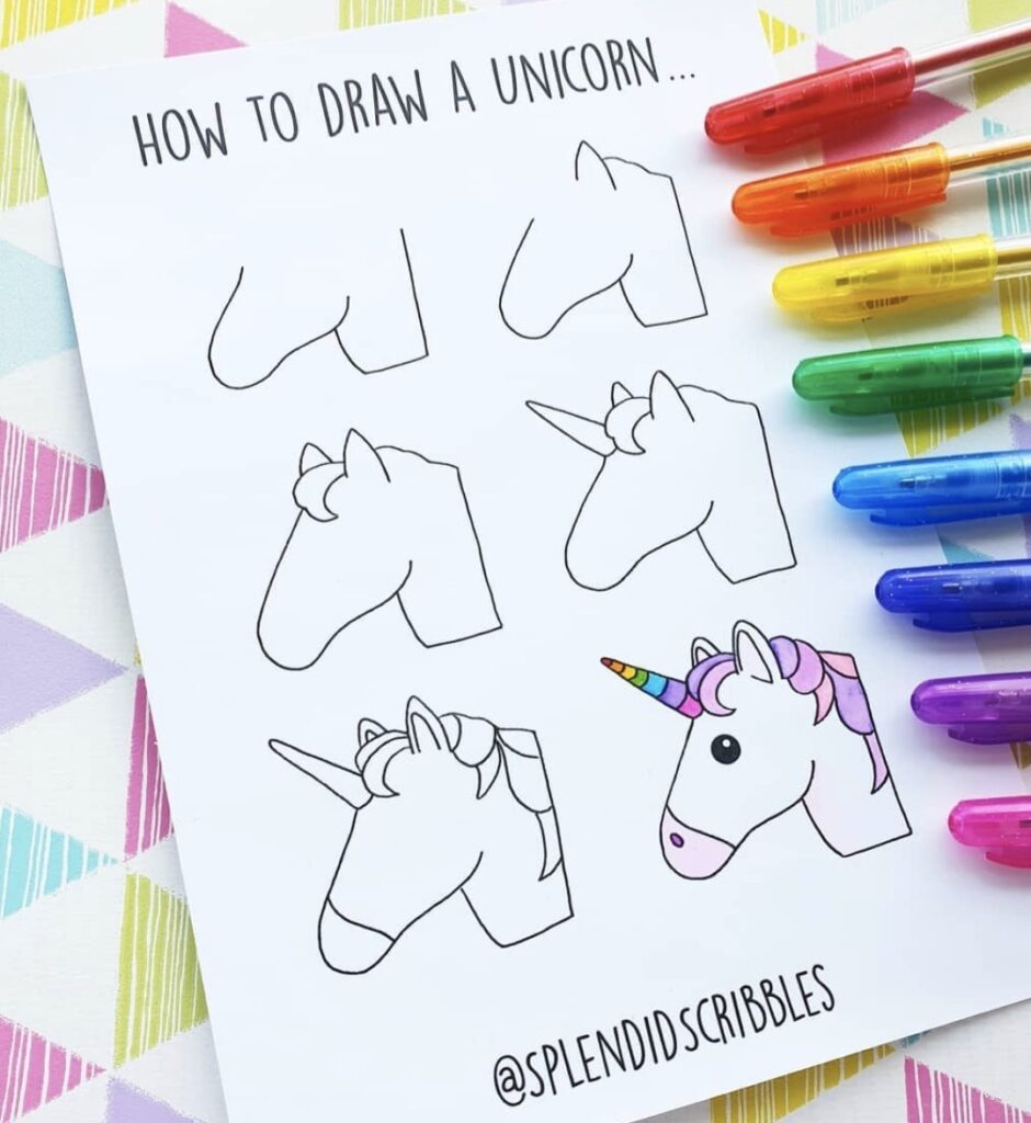 how-to-draw-a-unicorn-splendidscribbles