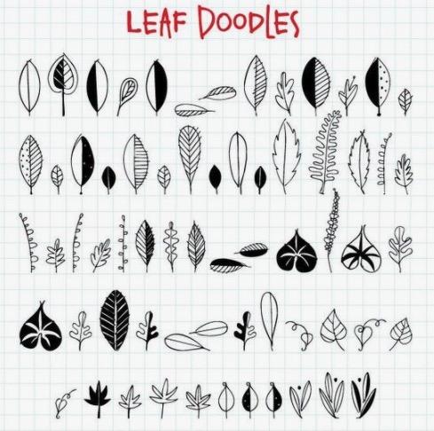 leaf-doodles-Pinterest