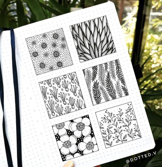 leaf-doodles-dotted-v